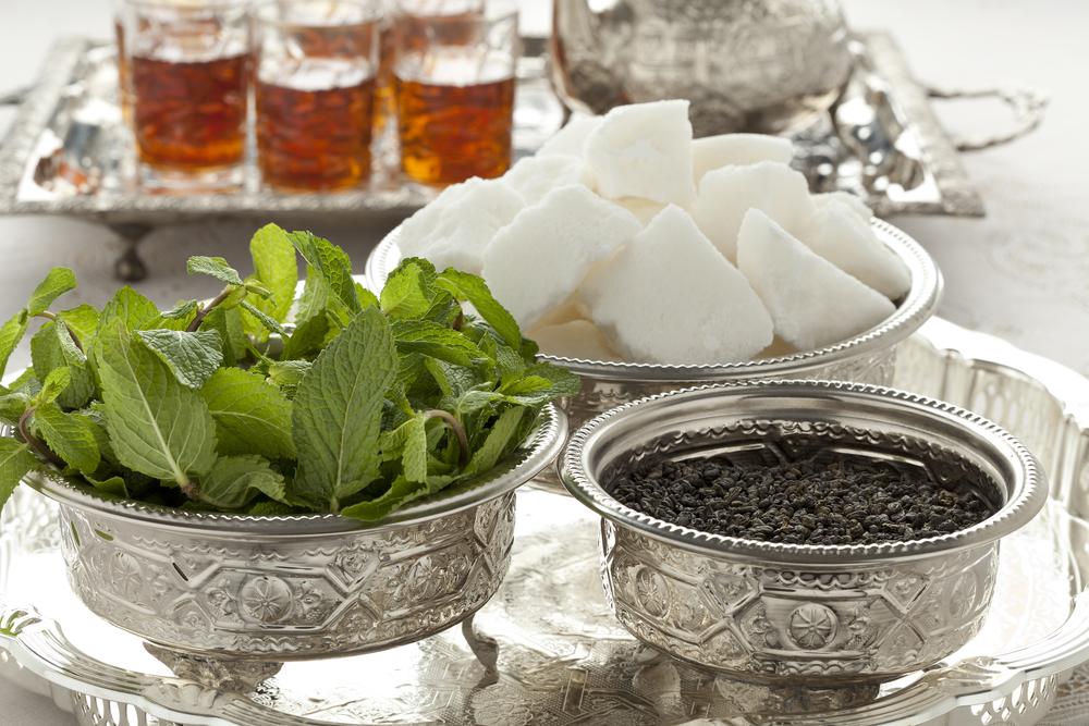 Moroccan mint tea tray | So Morocco