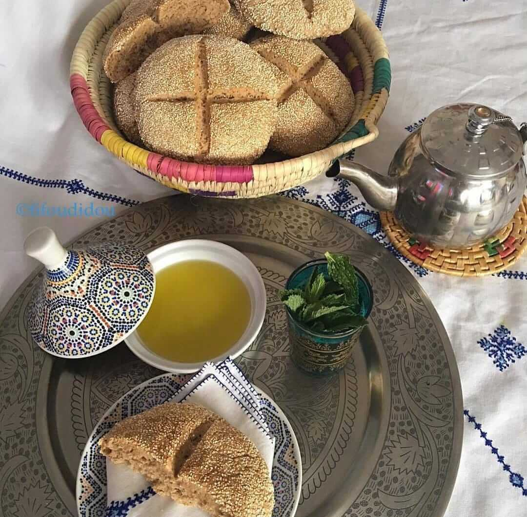 bread and olive table ourika