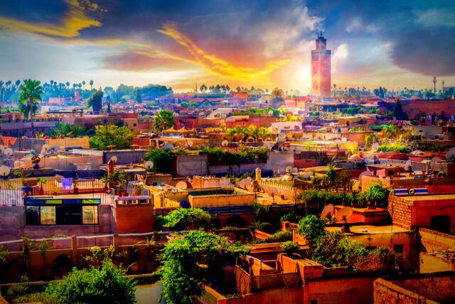 So Morocco Marrakech Skyline Marrakech Itinerary in 36hrs