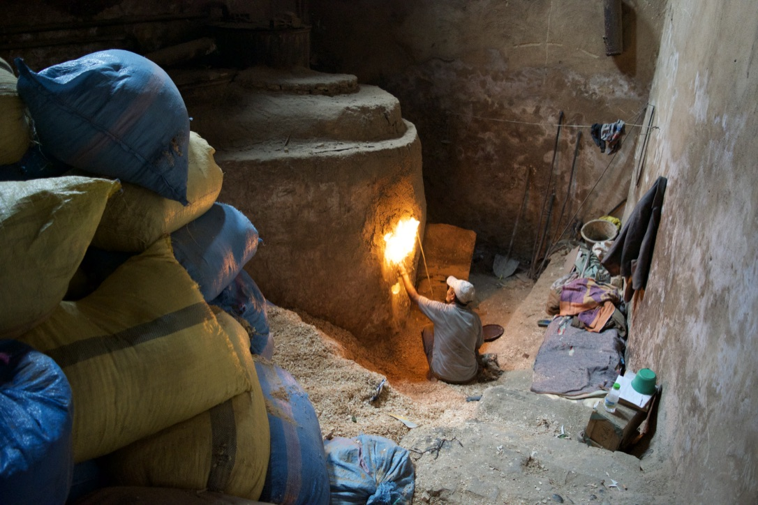 Authentic Morocco Hammam Fires