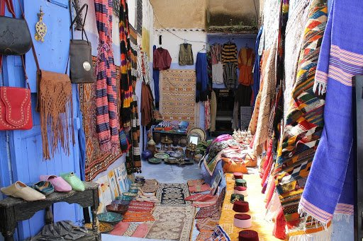 "Chefchaouen souk or ""souq""(market street) 