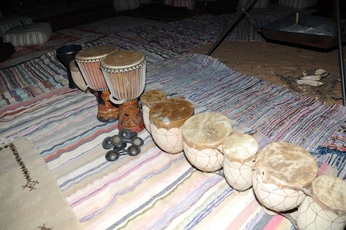 Desert Camp Drums | So Morocco