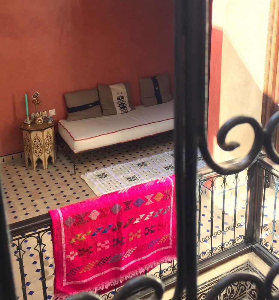 Drying Moroccan Carpets / So Morocco