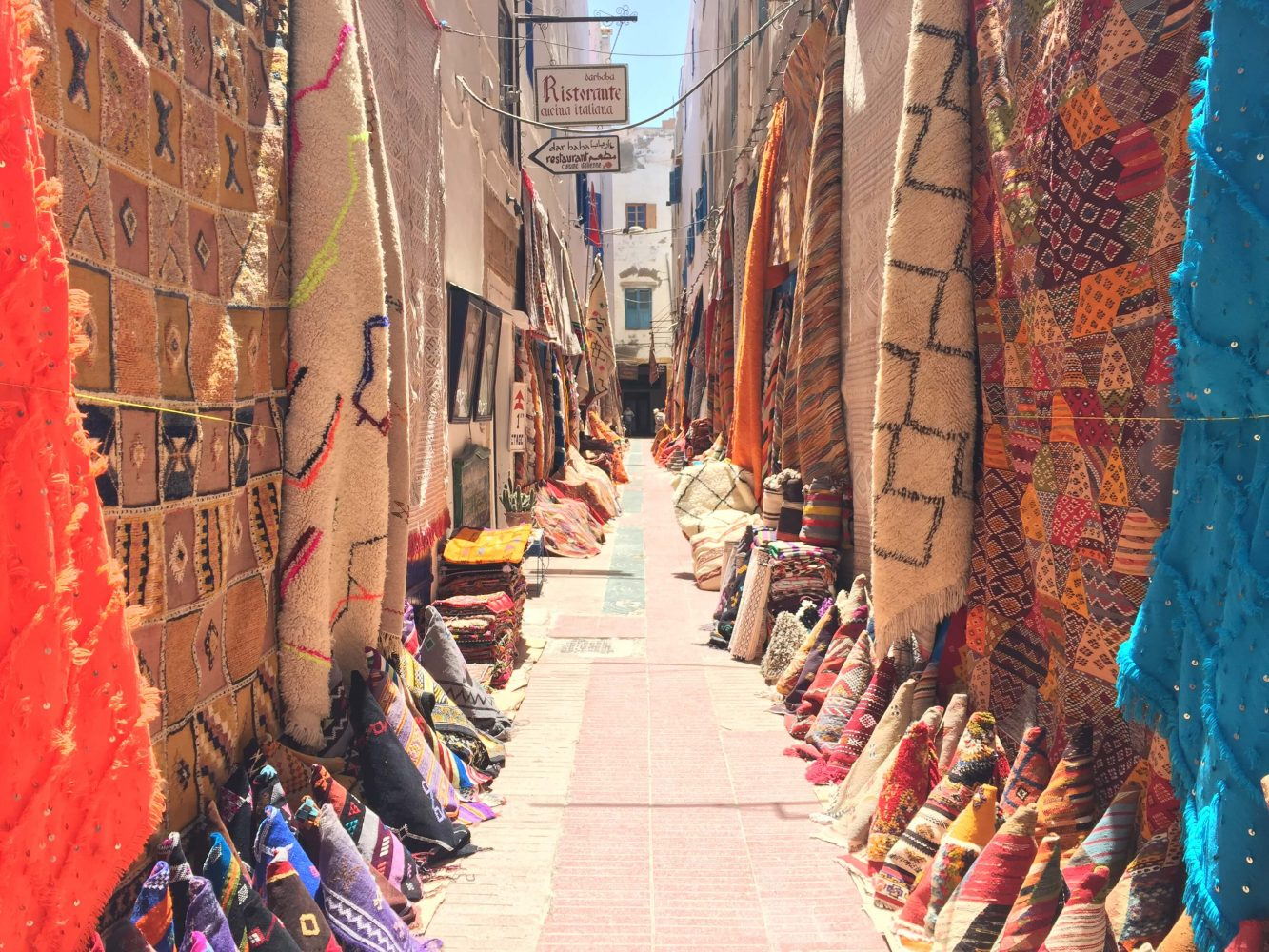Essaouira Carpet Street / Moroccan Carpets / So Morocco