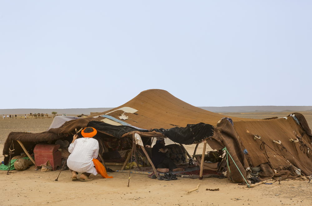How to Train Your Camel part 2 - Berber tent - So Moroco