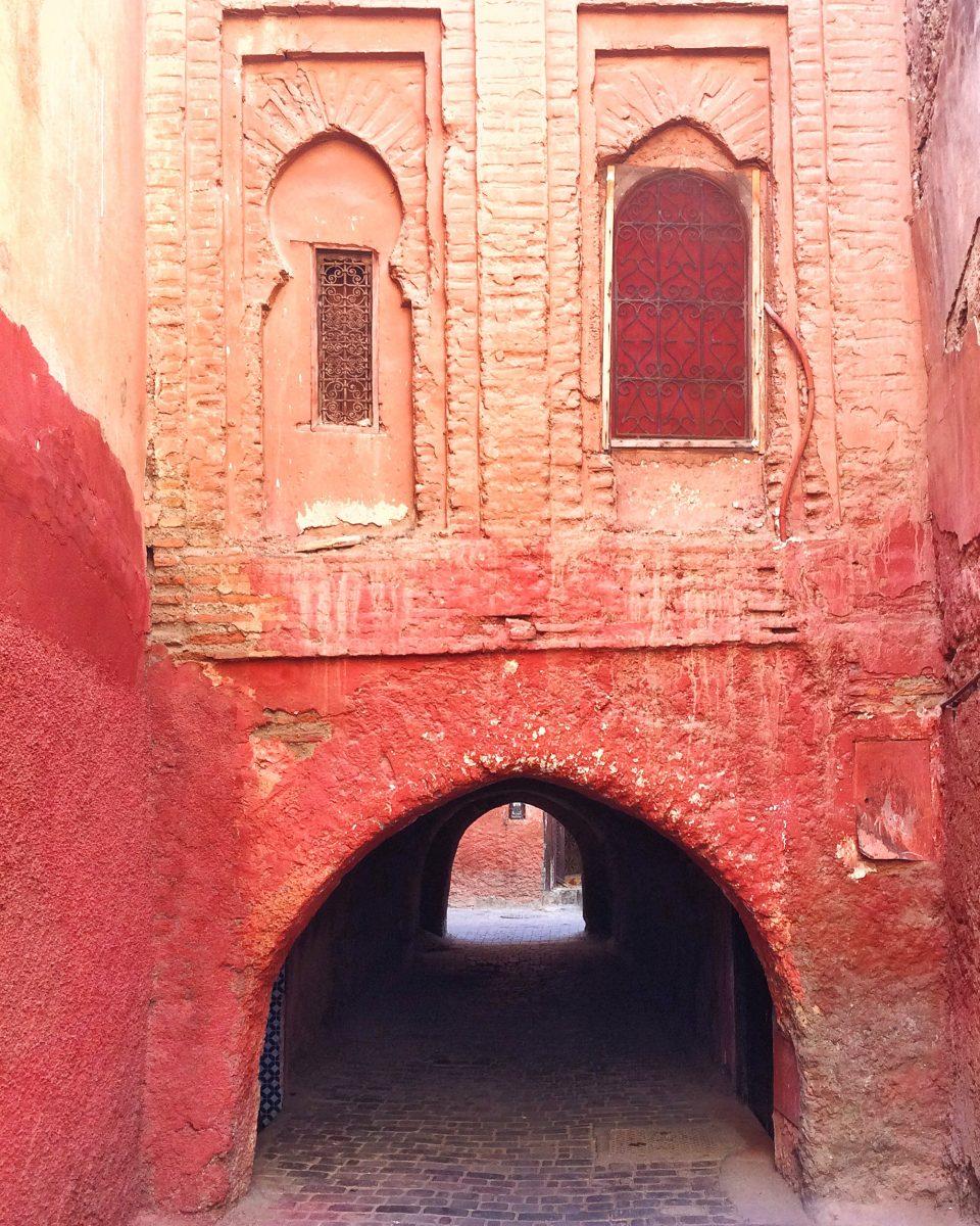 Marrakesh Medina Archway