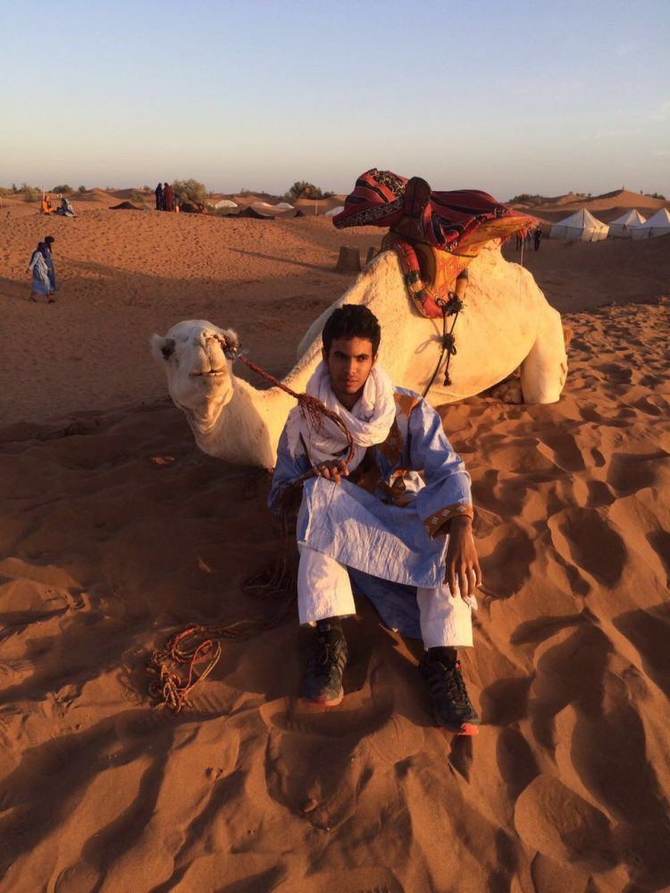Desert Nomad with camel | So Morocco