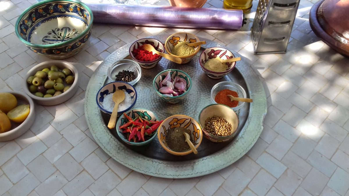 Moroccan cooking class in Ourika