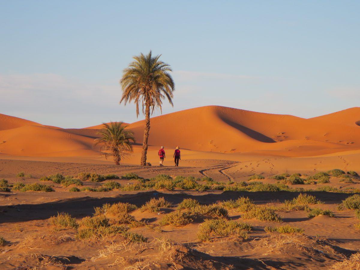 Morocco Road Trip - Dunes walk