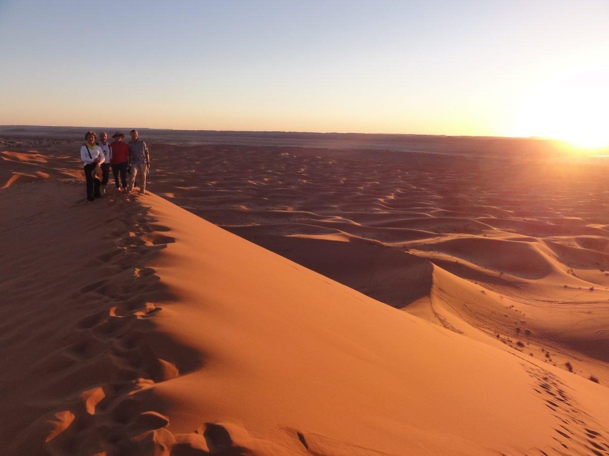 Morocco Road Trip - Lalla Merzouga sunset