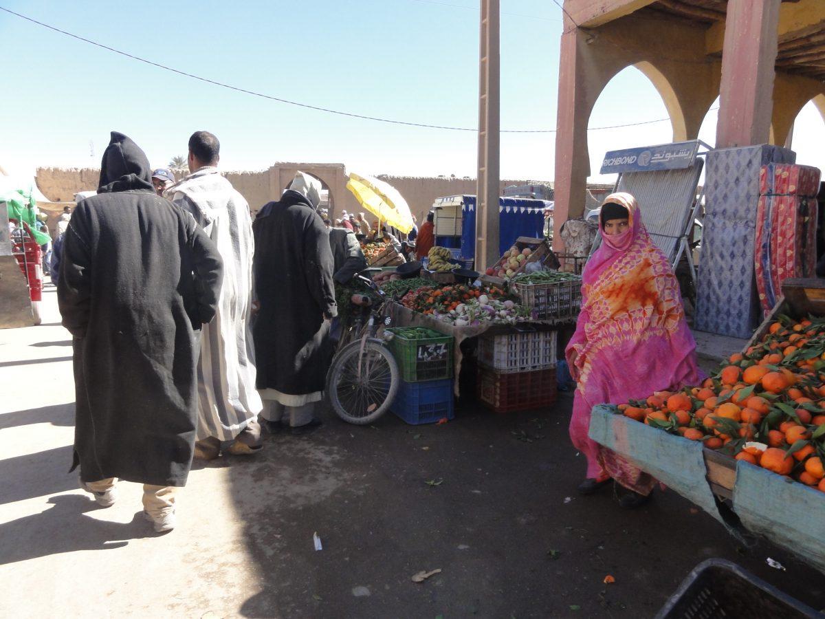 Morocco Road Trip - Rissani souk