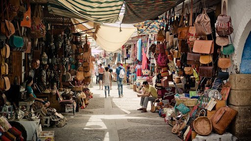 Souks in a coastal Medina | Negotiation