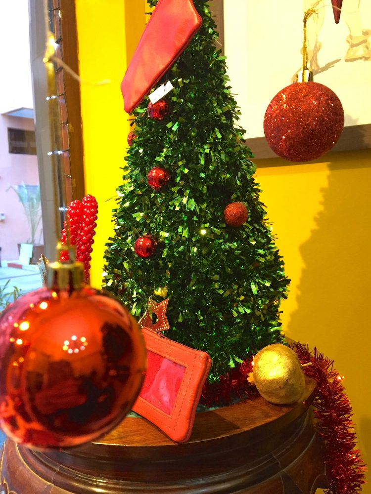 Xmas Display in Marrakech | Christmas in Morocco