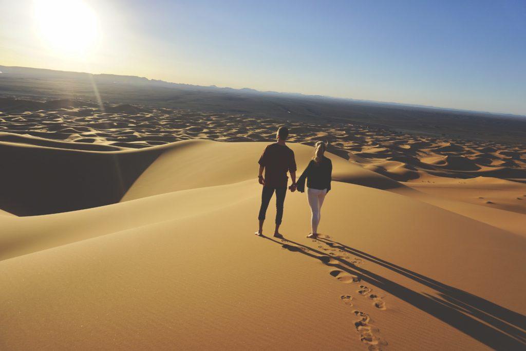 desert sunset | So Morocco