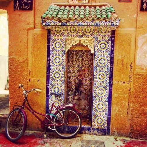 water fountain Marrakech | So Morocco Tour Blog