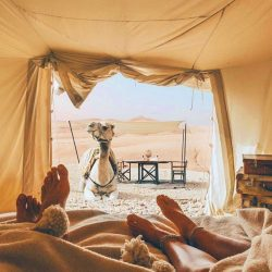 camping camel honeymoon tour so morocco