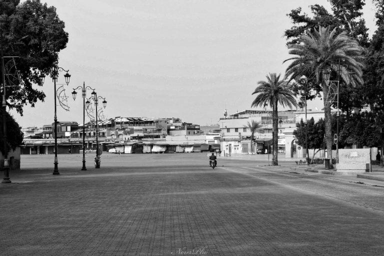 Empty Jma el fna Noureddineph