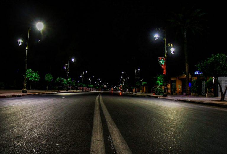 Empty Road Morocco / Noureddineph2