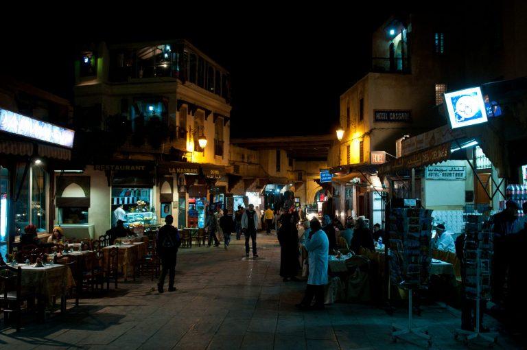 Fes medina at nightMichal Osmenda