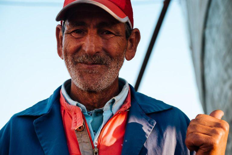 Fishyard worker. Tigo Sanchez