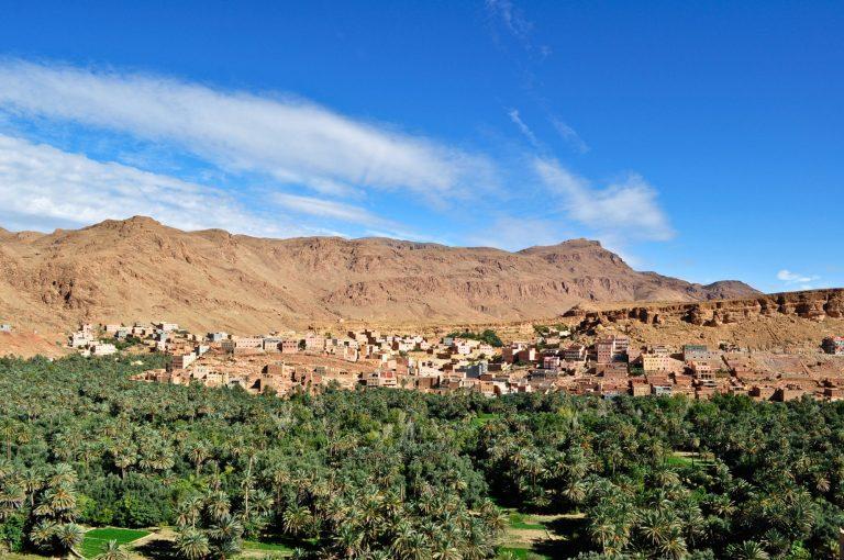 Tinghir oasis MoroccoElena Tatiana ChisCCAttributionShareAlike40international