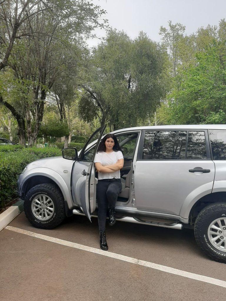 Female Tour Driver in Morocco